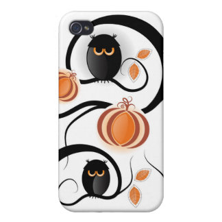 Halloween Owls Case For iPhone 4
