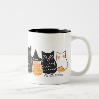 Halloween Owls Coffee Mug