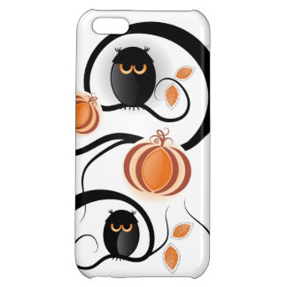 Halloween Owls Cover For iPhone 5C