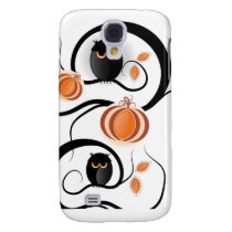 Halloween Owls Samsung Galaxy S4 Cover