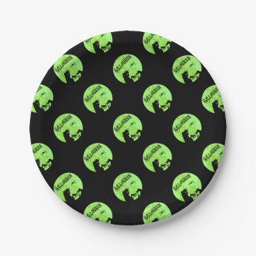 Halloween Themed Halloween Paper Plate
