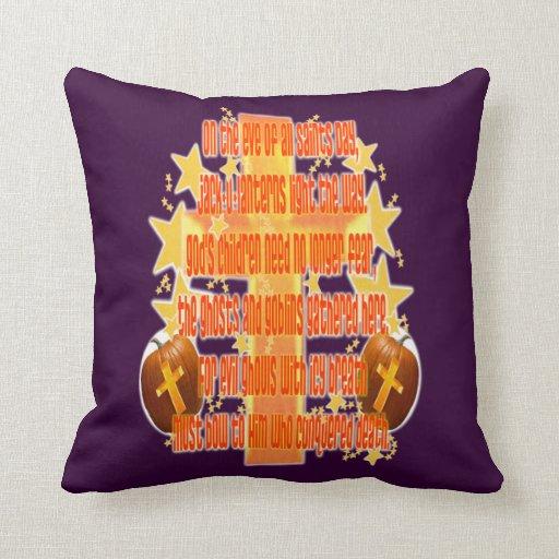 Halloween para los cristianos (poema) almohadas