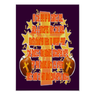 Halloween para los cristianos (poema) poster