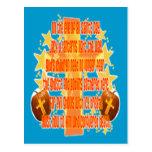 Halloween para los cristianos (poema) postales