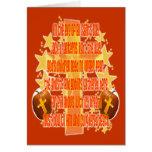 Halloween para los cristianos (poema) tarjeta de felicitación