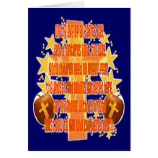 Halloween para los cristianos (poema) felicitación