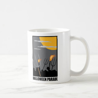 Halloween Parade Classic White Coffee Mug