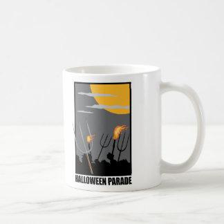 Halloween Parade Coffee Mugs