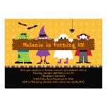 Halloween Parade Costume Birthday Party Invitation