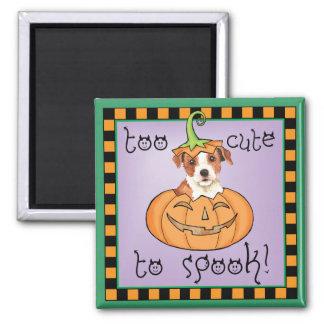 Halloween Parson Russell Terrier Magnet