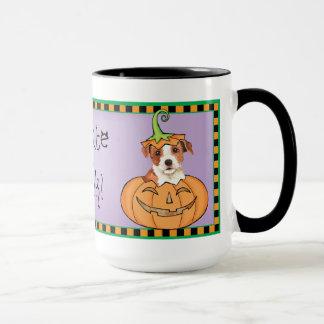 Halloween Parson Russell Terrier Mug