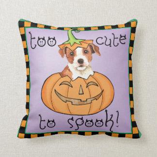 Halloween Parson Russell Terrier Throw Pillow