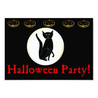 Halloween Party! 3.5x5 Paper Invitation Card