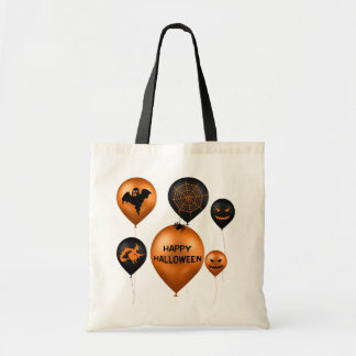 Halloween Party Balloons - Budget Tote