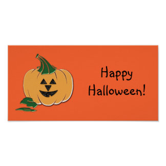 Halloween Party Banners Poster
