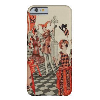 Halloween Party Black Cat Owl Bat Barely There iPhone 6 Case