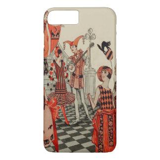 Halloween Party Black Cat Owl Bat iPhone 7 Plus Case