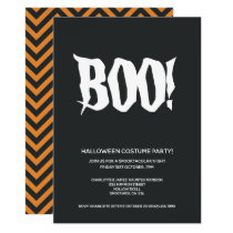 Halloween Party Boo Spooktacular Personalized Invitation