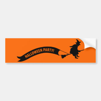 Halloween Party Bumper Sticker