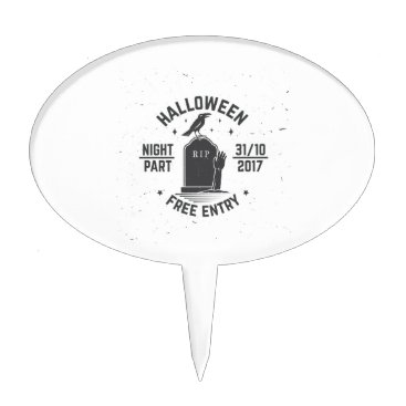 Halloween Themed Halloween-party Cake Topper