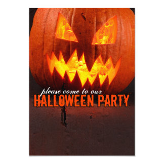 halloween party! card