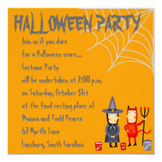 Halloween Party!! Card