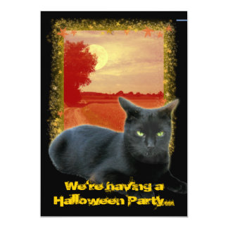 Halloween Party... Card