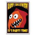 HALLOWEEN PARTY CARDS card