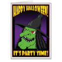 HALLOWEEN PARTY CARDS -2 card