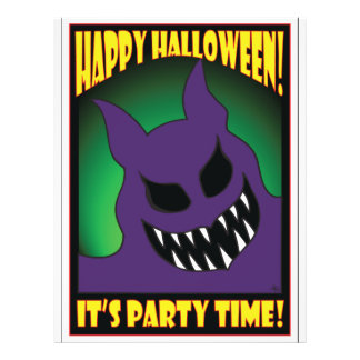 HALLOWEEN PARTY CARDS -2