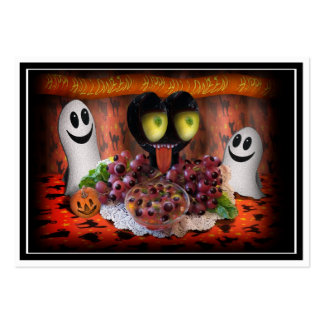 Halloween Party Centerpiece. Large Business Cards (Pack Of 100)