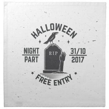 Halloween Themed Halloween-party Cloth Napkin