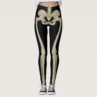Halloween Party Costume Skeleton Leggings