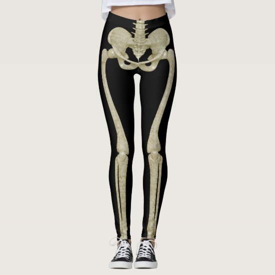 Halloween Party Costume Skeleton Leggings