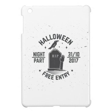 Halloween Themed Halloween-party Cover For The iPad Mini