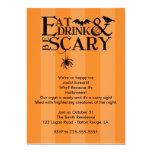 Halloween Party Custom Invitations