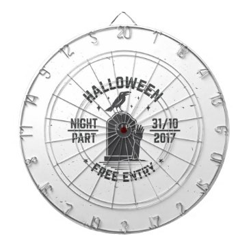 Halloween Themed Halloween-party Dartboard With Darts
