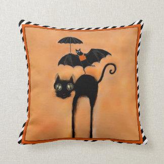 Halloween party decor throw pillow