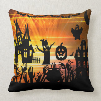 Halloween party Dekokissen Throw Pillow
