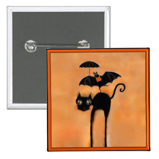 Halloween party favors 2 inch square button