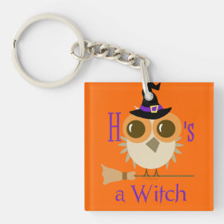 Halloween Party Favors Cute Witch Hoo Owl Gifts Keychain