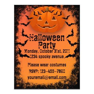 walex101 Halloween Party Flyer