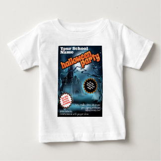Halloween Party Flyer Poster Infant T-shirt