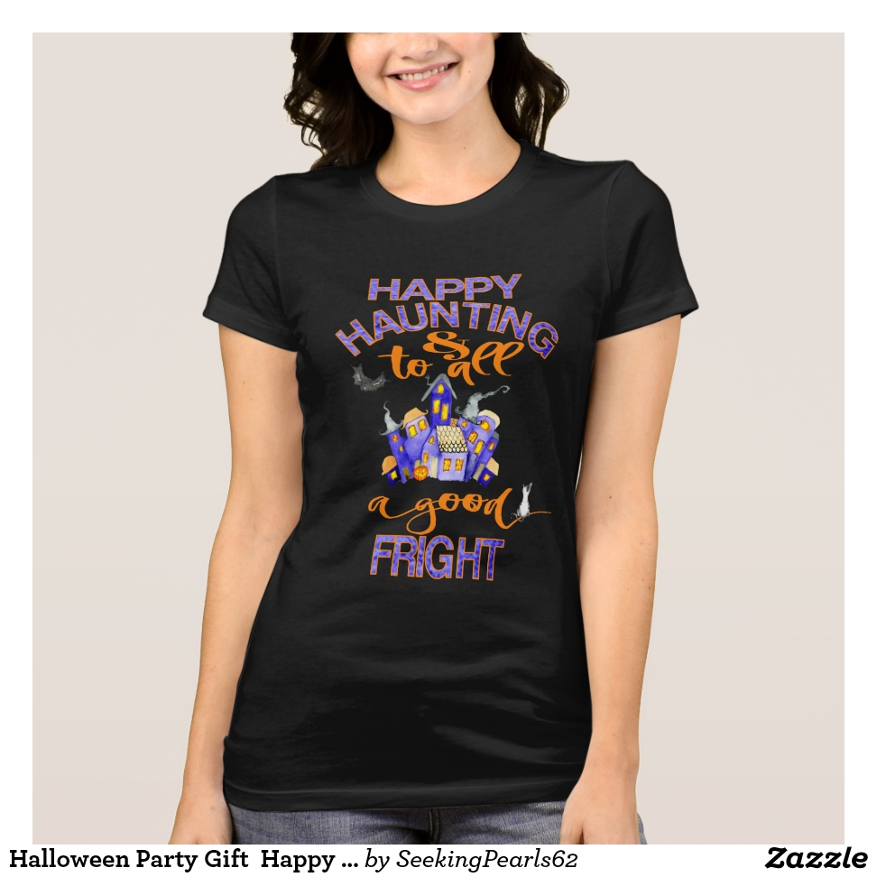 Halloween Party Gift  Happy Haunting & Good T-Shirt - Best Selling Long-Sleeve Street Fashion Shirt Designs