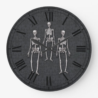 Halloween Party Haunted House Victorian Gothic Large Clock