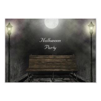 Halloween Party inviation dark Card