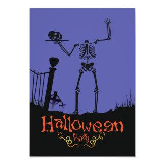 Halloween Party invitación