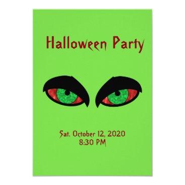 Halloween Themed Halloween Party Invitation