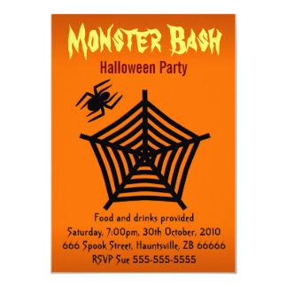 Halloween Party Invitation Custom Invitation