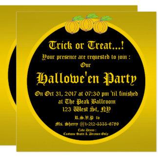 Hallowe'en Party Invitation 1